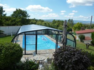 Abri de piscine Hera