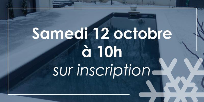 Aquilus Piscines Paray le Monial vous forme à l'hivernage de votre bassin le Samedi 12 octobre à 10h. Inscrivez-vous !