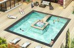 Bi-O, la piscine 2 en 1